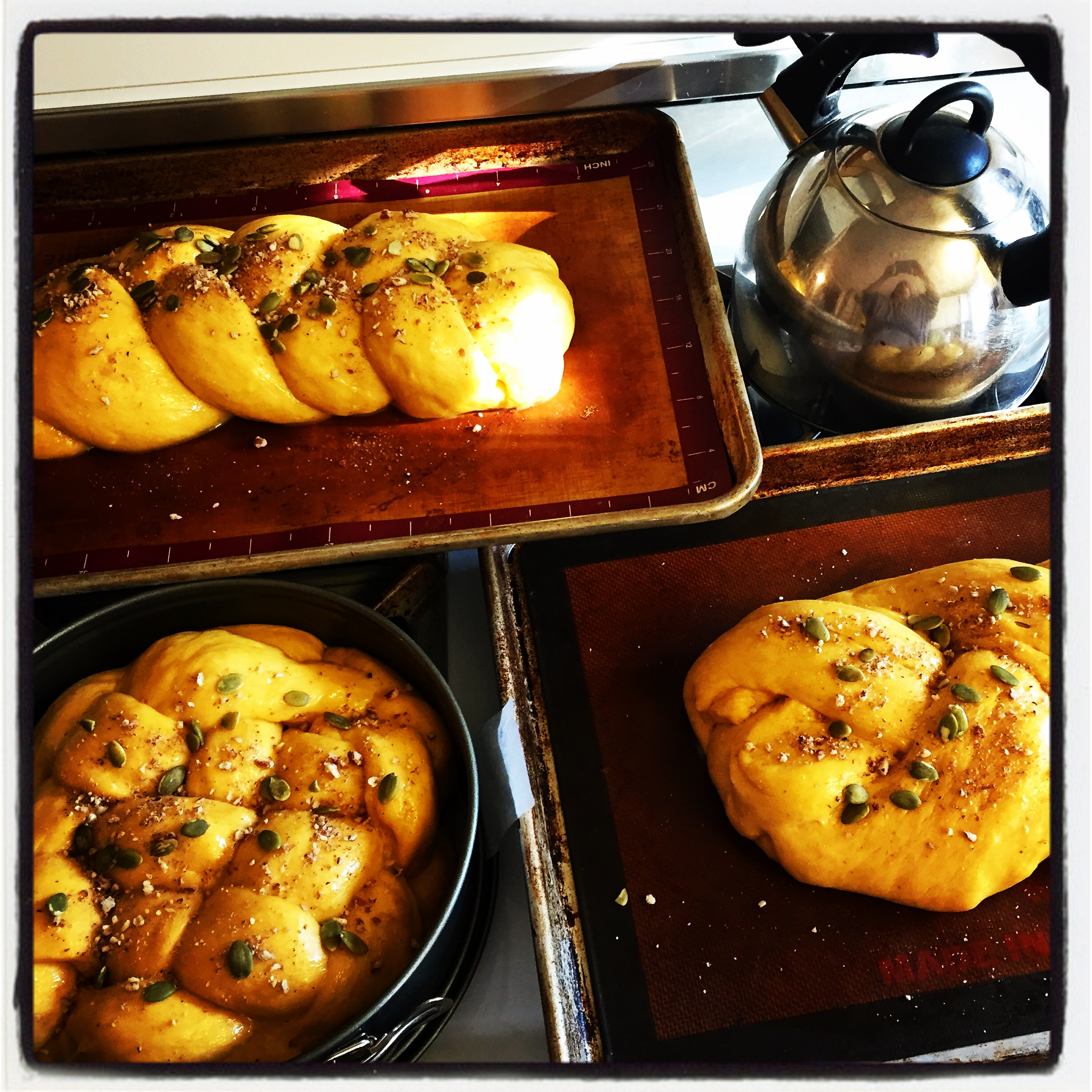 Pumpkin challahfact fiction - Kitchenaid challah ...